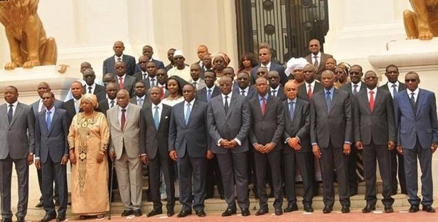 Les membres du Gouvernement en vacances