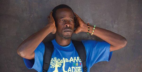 Vision de la jeunesse sur le conflit casamançais L'artiste Ksi Apakéna face à la presse aujourd'hui
