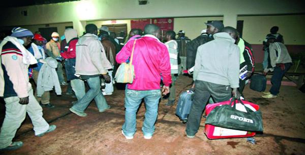 Immigration : Neuf Sénégalais rapatriés de la Libye