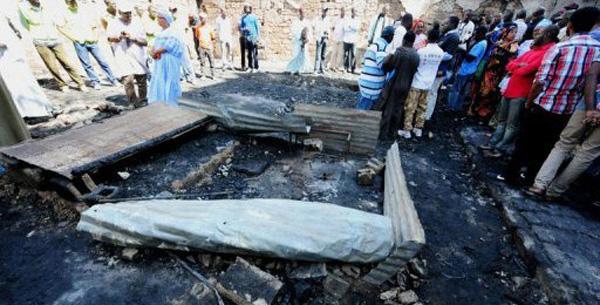 SENEGALAIS MORTS CALCINES EN ALGERIE Sory Kaba pour des tests d'Adn
