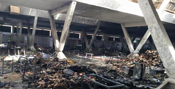 INCENDIE A LA FIDAK : de gros dégâts matériels enregistrés