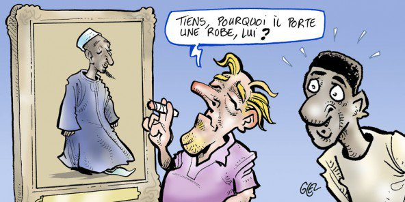 OFFENSE IMAGE CARICATURALE DE SERIGNE TOUBA Jeune Afrique franchit le rubicon