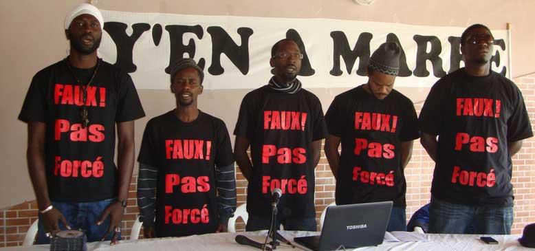 FRONT ANTI-REFERENDUM : Y en a marre boycotte, les opposants pour un NON collectif