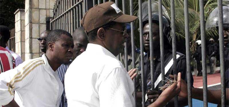 Sidy Lamine NIASSE à la Brigade des affaires générales (BAG)