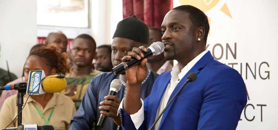 Akon rachète 50 pour cent des parts de la plate-forme de téléchargement MusikBi