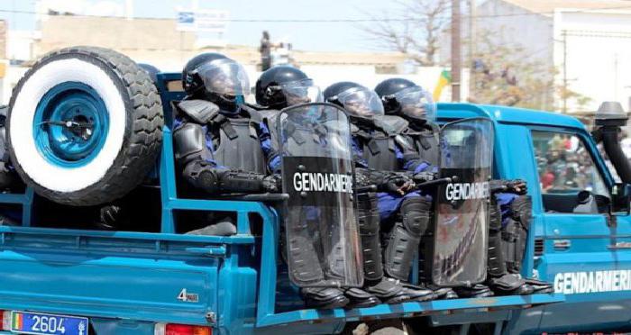 Popenguine : 720 gendarmes veillent à la sécurité des pèlerins