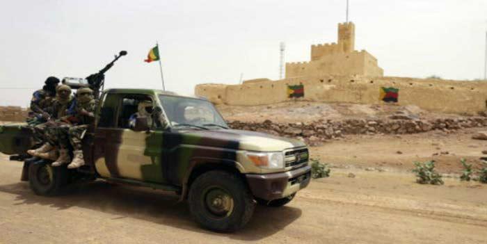 Mali : découverte d'une cache d'armes