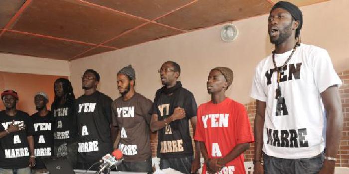 Plainte contre L'Etat du Sénégal: Y en a marre compte déjà 7 000 signatures physiques
