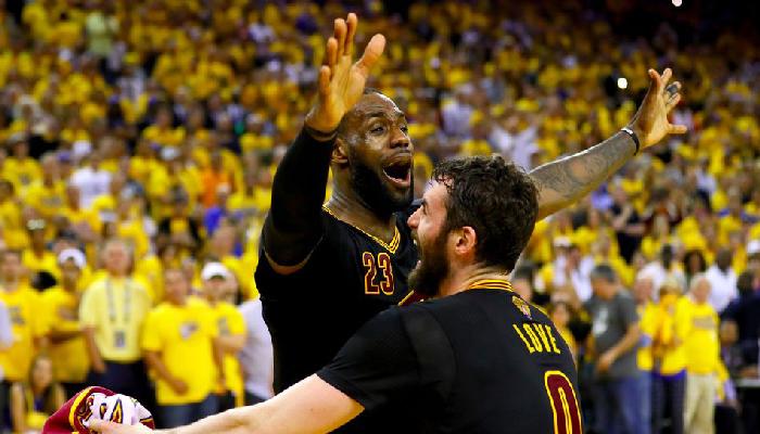 LeBron James désigné MVP des Finales