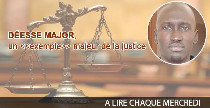 Déesse Major, un «exemple» majeur pour la Justice