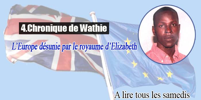 L'Europe désunie par le royaume d'Elizabeth