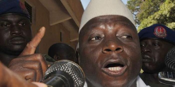 Yahya Jammeh fait fermer les frontières