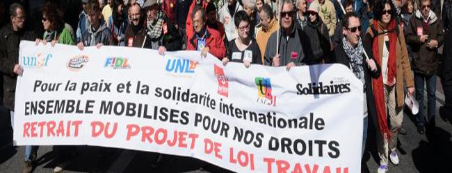 Manifestation du 14 juin 2016 : à Paris, une journée sous haute tension contre la loi Travail