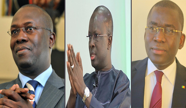 COALITION POLITIQUE : Souleymane Ndéné, FADA et Aliou SOW s'unissent