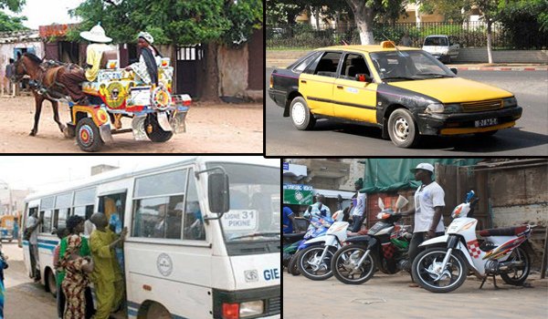 «WOTIIR», JAKARTA, TAXI OU TATA : A chacun son véhicule au Ndiambour