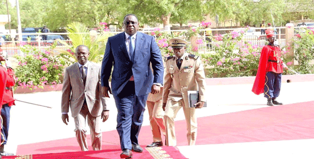 CONSEIL DES MINISTRES : Macky «a prié pour un Sénégal prospère dans l'unité, la paix et la solidarité»