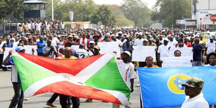 Burundi: manifestation pro-gouvernementale contre la France et l'ONU