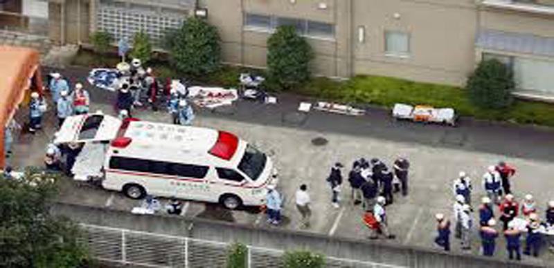 JAPON : il s'introduit dans le centre pour handicapés, tue 19 personnes et fait une vingtaine de blessés