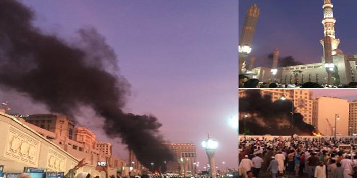 Attentat suicide dans la ville sainte de Médine: 4 morts (vidéo)