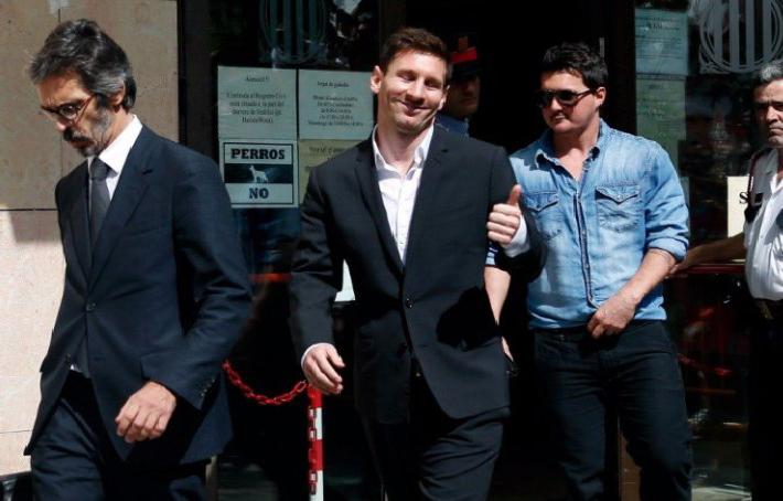 Période noire pour Lionel Messi, condamné à 21 mois de prison pour fraude fiscale