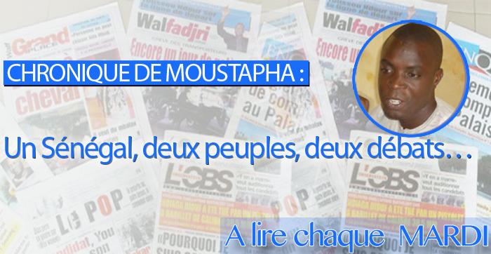 Un Sénégal, deux peuples, deux débats…