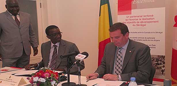 Aide au développement : Le Canada promet 66 milliards de francs Cfa au Sénégal