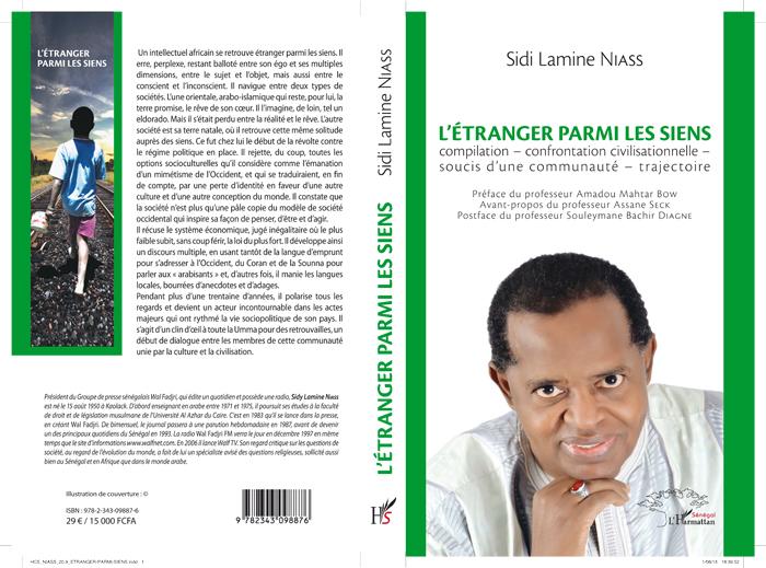 NOUVELLE PARUTION : L'ÉTRANGER PARMI LES SIENS, un livre de Sidi Lamine NIASS