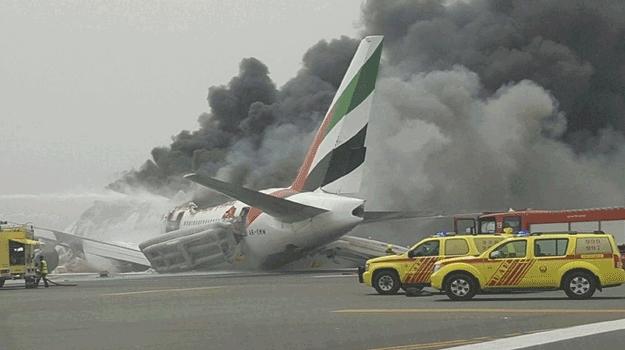 Un avion d'Emirates a eu un «accident» à l'atterrissage à Dubaï