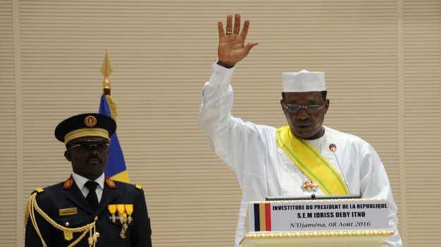 Tchad : Idriss Déby prête serment pour un cinquième mandat devant plusieurs chefs d'État africains