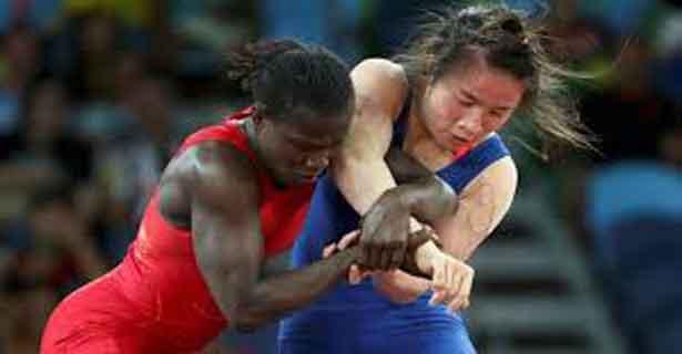 JO 2016/Lutte : Isabelle SAMBOU corrigée en quart de finale