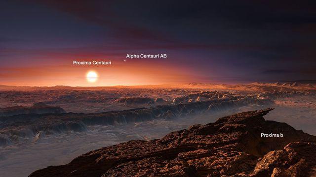 Proxima b: la planète la plus proche de la Terre jamais découverte