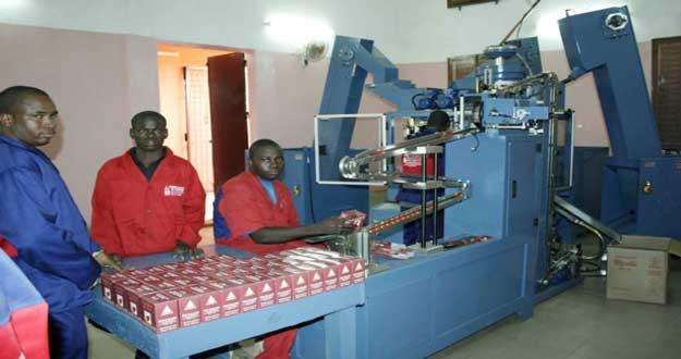 Sénégal : Baisse de 4,7% de la production industrielle en juin 2016