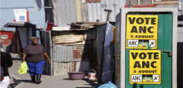 Afrique du Sud : résultats partiels, l'ANC en tête des législatives