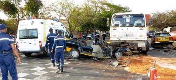 Accidents de la route : «entre 4000 et 5000 morts par an au Sénégal»