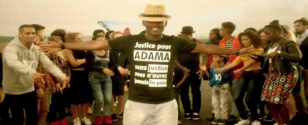 Black M rend hommage à Adama Traoré, W9 censure