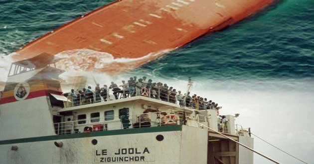 Naufrage du Joola : l'affaire définitivement classée