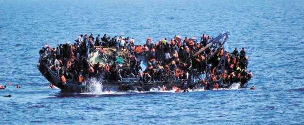 150 migrants secourus au large de l'ouest de la Libye