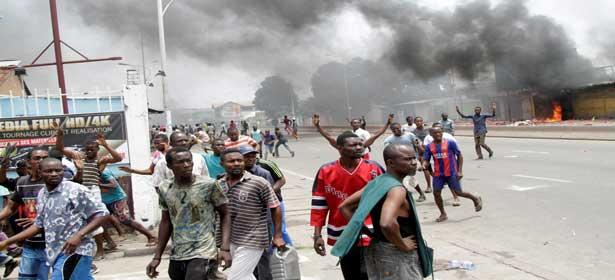RDC : multitude d'affrontements entre jeunes et forces de l'ordre, de nouveaux morts