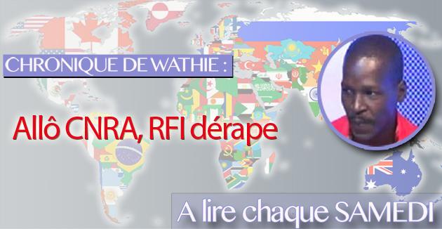 Allô CNRA, RFI dérape