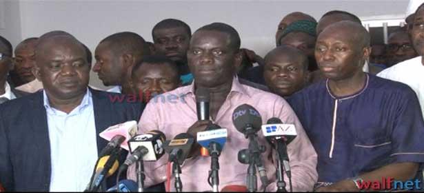 Face à la presse, les opposants n'ont fait aucun cadeau aux SALL (Vidéo)