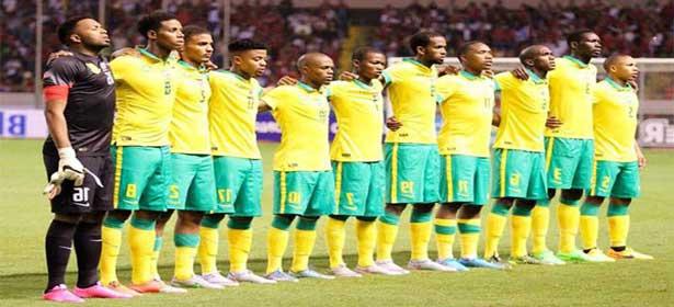 Afrique du Sud vs Sénégal : la liste des 25 Bafana-Bafana