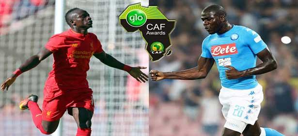Ballon d'Or africain : Sadio MANE et Kalidou KOULIBALY parmi les 30 joueurs nominés