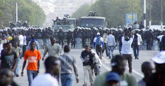 Assemblée nationale : les opposants devancés par la police