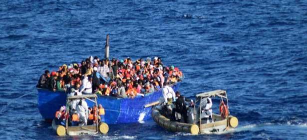 Encore 1.400 migrants secourus au large de la Libye