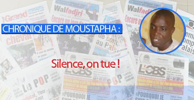 Silence, on tue !