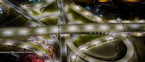 Ghana: L'échangeur Kwame Nkrumah accès pour 84.000 véhicules à 48 milliards
