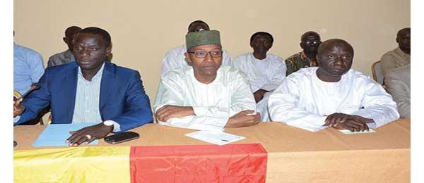 Manko Wattu Sénégal face à la presse ce vendredi
