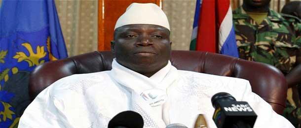 Présidentielle gambienne : Yaya Jammeh a déposé sa candidature pour un cinquième mandat