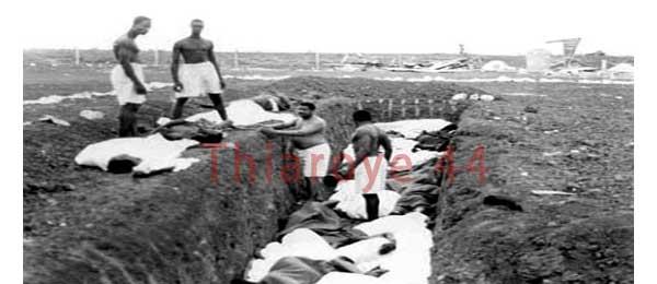 Les familles des victimes du massacre Thiaroye saisissent le parquet de Paris