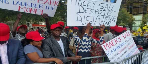 Manifestation : L'opposition va vilipender Macky, ce mercredi, à Paris